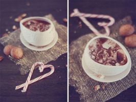 Hot chocolate' by karinelips