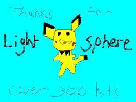 Ty Over 300 hits by Xam-The-pichu