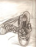 the shoes on my feet by RAYRAY2