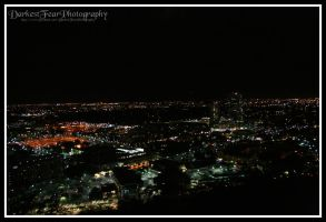 View from A-Mountain at night II by DarkestFear