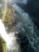 Over The Waterfall -Brazil- by vlada-k
