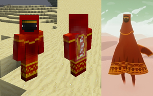 Journey Minecraft Skin by Kanoro-Studio