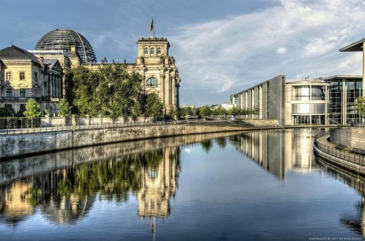 Government District of Berlin by pingallery