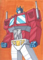 Optimus Prime by RobertMacQuarrie1