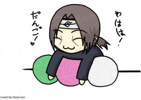 -Coloring Book- Chibi Itachi by MimiMaxwell