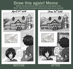 Draw This again Meme (The Mists) by AlexandeNight