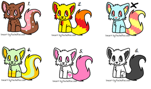 Lil Wolf Adoptable Pack by Newgrounds-People