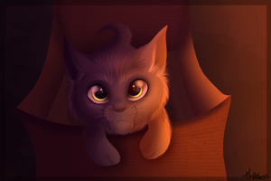 Unwanted Kitty by Thealess