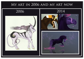 Then and Now by Astralseed