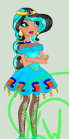 Ever after High oc: Point commision 4 by Kings-of-Queens