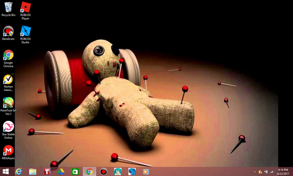 My laptop background by MyLifeIsSin