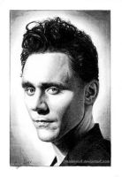 Tom Hiddleston by Pencil-Stencil