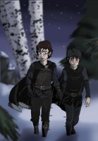 A Pack of Two by ode2sokka