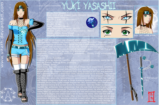 Yuki: New Reference Sheet by VITATH