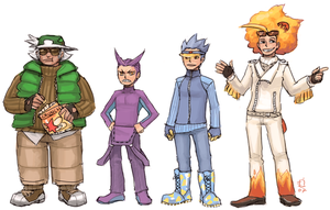 Team gijinkas by emlan