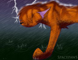 Thunderclan retreat by spacepaws