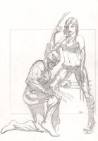 Wolverine and X-23 by ClarkWGriswold
