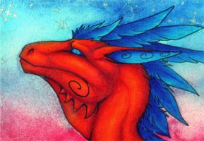 ACEO- The Coming Twilight by Sky-Shifter