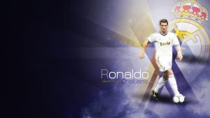 Wallpaper Cristiano Ronaldo by elatik-p