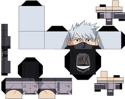 Anbu Kakashi by hollowkingking