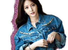 BoA Only One Glitter Silhouette Edit PNG by xElaine