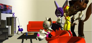 Five Nights At Rouge's by HectorNY