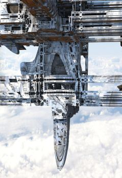 Floating City Weather Station by HalTenny