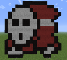 Minecraft - Shy Guy by Unstable-Life