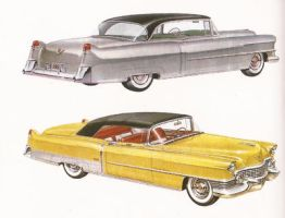 age of chrome and fins: Cadillac 3 by Peterhoff3