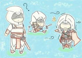 Assassin's creed chibi by NatsuMiku
