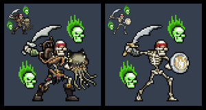 Killer Instinct 2013: Spinal (Sprite) by perezman