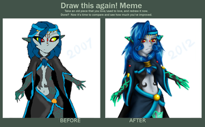 Midnight - Before and After by Luifex