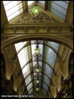 The glass ceiling above by maeve-kaie