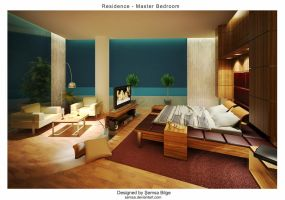 R2-Master Bedroom 4 by Semsa