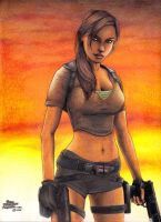 Lara Croft by pablofdezr