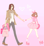 Spring shopping by agent-lapin