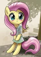 Kawaii Fluttershy by johnjoseco