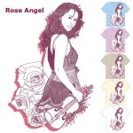 Rose Angel by tamaow