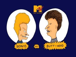 Beavis and Butt-Head by Dreth363