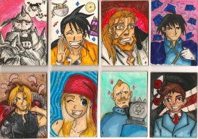Artist Trading Cards: FMA by Slash-Luvr