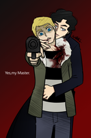 mad Scientist Sherlock and Undead John by aulauly7