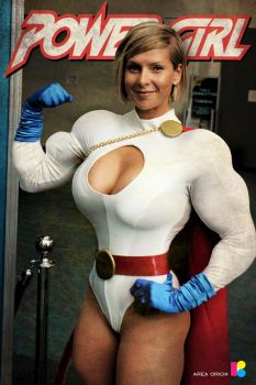 Power Girl by areaorion