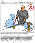 Divadroid Precautions booklet by squirminator2k