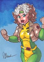 Sketch Card #120 - Rogue by destinyhelix