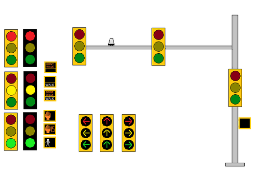 Traffic Signal Pack by WillM3luvTrains