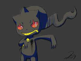 banette uses curse by Ryan-sprite