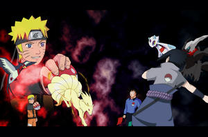 Naruto Pokemon Party by ForiegnBacon