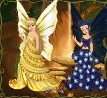 Fairy of the Moon and the Sun. by Liz5545