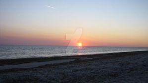 Sunset Over Thompson Beach I by copperphoenix