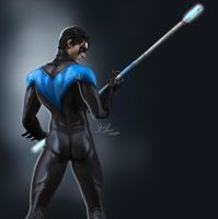 Nightwing by rodr22